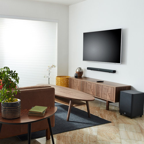 View Larger Image of Bar 5.1-Channel 4K Ultra HD Sound Bar with True Wireless Surround Speakers and Wireless Subwoofer