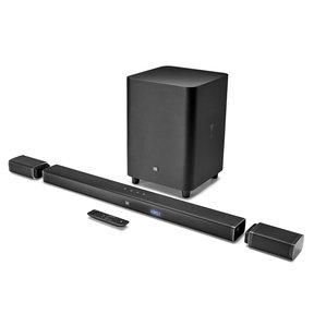 Bar 5.1-Channel 4K Ultra HD Sound Bar with True Wireless Surround Speakers and Wireless Subwoofer