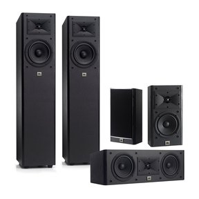Arena 170 Series 5.0 Channel Home Theater Speaker Package (Black)