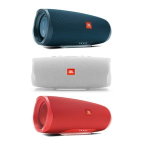 Charge 4 Waterproof Portable Wireless Bluetooth Speaker Patriotic 3-Pack (Red, White, & Blue)
