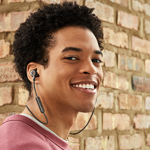 View Larger Image of Everest 110 Wireless In-Ear Headphones with In-Line Remote and Mic