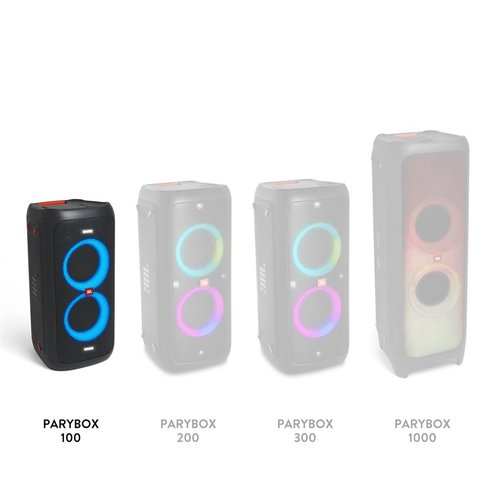 View Larger Image of PartyBox 100 Powerful Portable Bluetooth Party Speaker with Dynamic Light Show