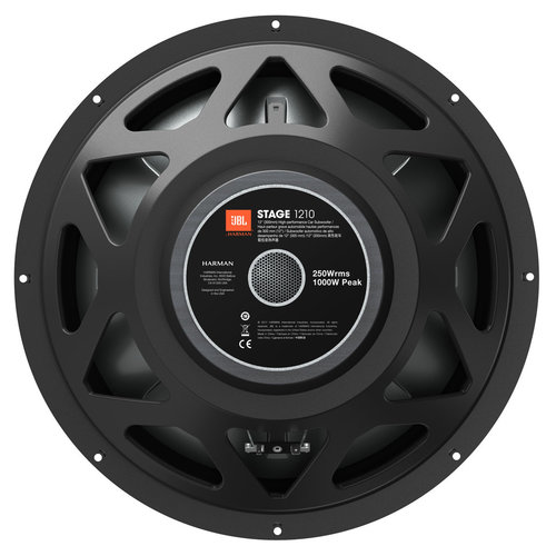 """View Larger Image of Stage 1210 12"""" 250-Watt Subwoofer"""