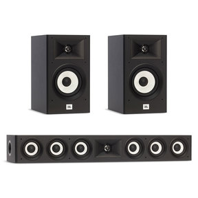 Stage A130 Bookshelf Speaker Pair with Stage A135C Center Speaker