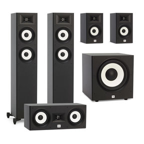 "Stage A170 5.1 Speaker Package with A100P 10"" Powered Subwoofer (Black)"