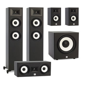 "Stage A180 5.1 Speaker Package with A120P 12"" Powered Subwoofer (Black)"