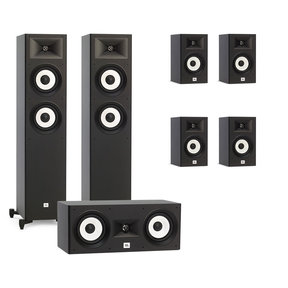 Stage A180 7.0 Channel Home Theater Speaker Package