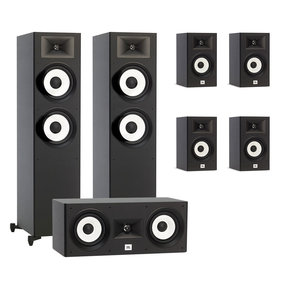 Stage A190 7.0 Channel Home Theater Speaker Package