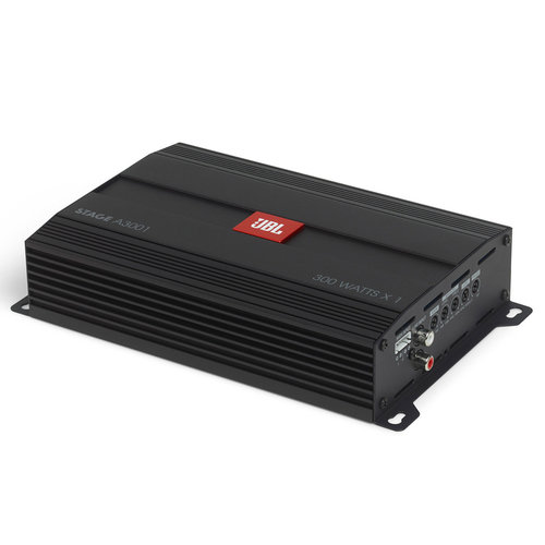 View Larger Image of Stage A3001 300-Watt @ 2 ohms Monoblock Subwoofer Amplifier
