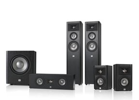 Studio 270 5.1 Home Theater Speaker System Package (Black)
