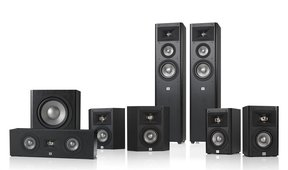 Studio 270 7.1 Home Theater Speaker System Package (Black)