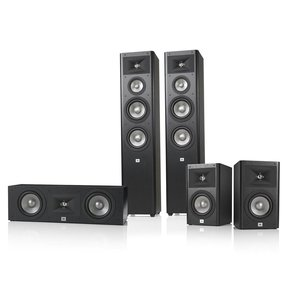 Studio 280 5.0 Home Theater Speaker System Package (Black)