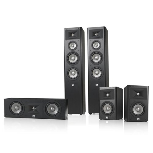 "JBL WWS-280-50 5.1-Ch Home Theater Speakers + Free 10"" Subwoofer"