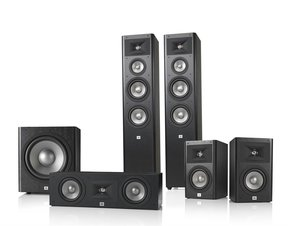 Studio 280 5.1 Home Theater Speaker System Package (Black)