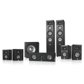 Studio 280 7.1 Home Theater Speaker System Package (Black)
