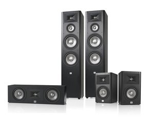 Studio 290 5.0 Home Theater Speaker System Package (Black)