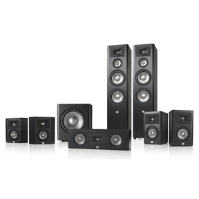 Studio 290 7.1 Home Theater Speaker System Package (Black)