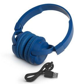 T450BT Wireless On-Ear Headphones with Built-In Remote and Microphone