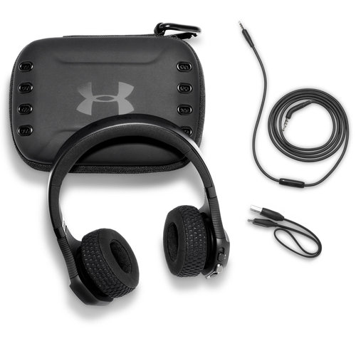 View Larger Image of Under Armour Sport Wireless Train On-Ear Headphones with Built-In Remote and Microphone