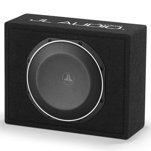 JL Audio CS110LG-TW1-2 2-Ohm 10 Inch TW1-Series Subwoofer with Compact  Enclosure