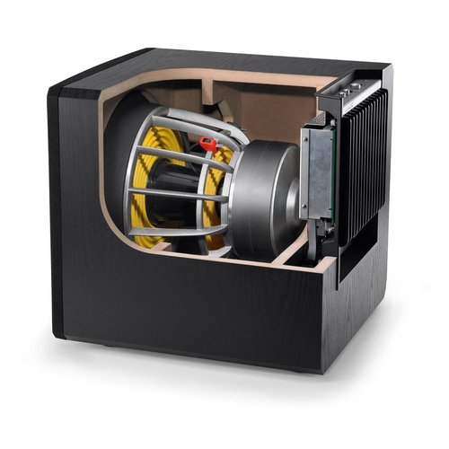View Larger Image of E110 E-Sub 10-inch 1200W Powered Subwoofer - Each (Black Gloss)