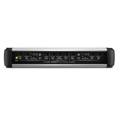 View Larger Image of HD600/4 4-Channel Class D, HD Series Car Amplifier with R.I.P.S. Technology