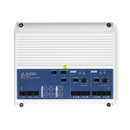 View Larger Image of M400/4: 4 Ch. Class D Full-Range Marine Amplifier