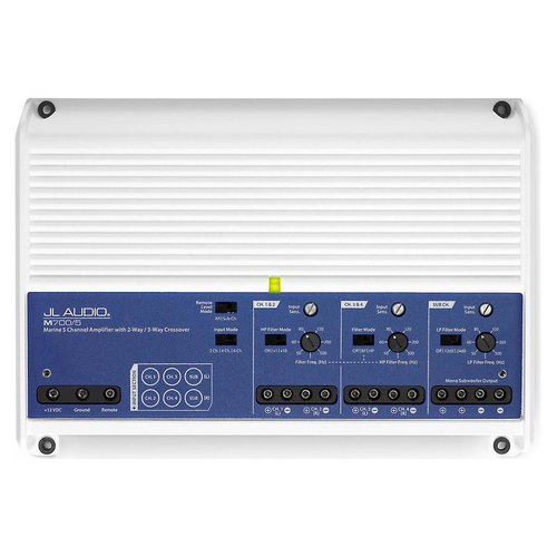 View Larger Image of M700/5 5 Ch. Class D Marine System Amplifier