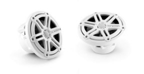 "MX650-CCX-SG MX Series 6.5"" Cockpit Coaxial Speaker System With White Sport Grilles - Pair"
