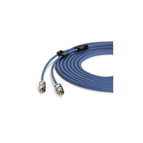 View Larger Image of XB-BLUAIC2-25 2-Channel Premium Audio Interconnect Cable 25'
