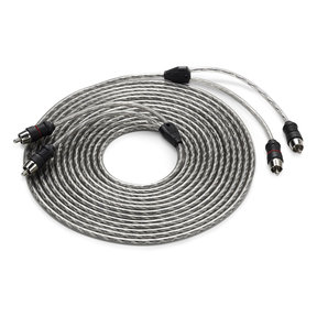 Twisted-Pair RCA Male to RCA Male Cable - 18 ft. (5.49m)
