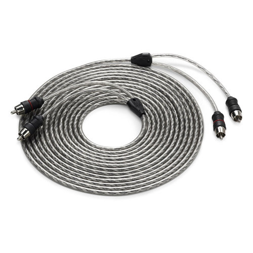 View Larger Image of Twisted-Pair RCA Male to RCA Male Cable - 18 ft. (5.49m)