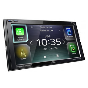 "KW-M750BT 6.8"" Digital Media Receiver w/ Apple CarPlay and Android Auto"