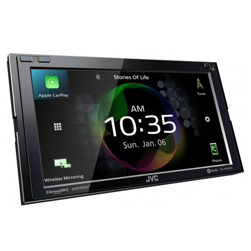 """View Larger Image of KW-M855BW 6.8"""" Digital Media Receiver w/ Wireless CarPlay and Wireless Android Auto"""