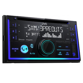KW-R930BTS Double-DIN CD Receiver w/ Bluetooth and USB/AUX Inputs