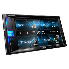 "KW-V250BT 6.2"" CD/DVD Receiver w/ USB Input and Bluetooth"