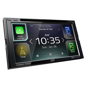 "KW-V850BT 6.8"" CD/DVD Receiver w/ Apple CarPlay and Android Auto"