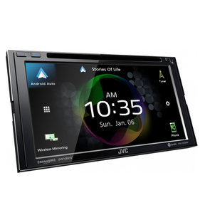 "KW-V950BW 6.8"" CD/DVD Receiver w/ Wireless CarPlay and Wireless Android Auto"