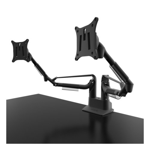 View Larger Image of DMS2000 Desktop Monitor Mount with Gas Shock Dual Arm Design