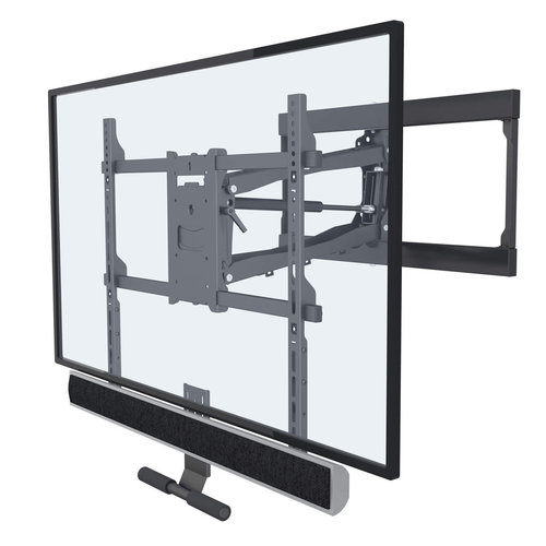 "View Larger Image of FM100 Fireplace Pull Down TV Mount for 42"" - 65"" TV"