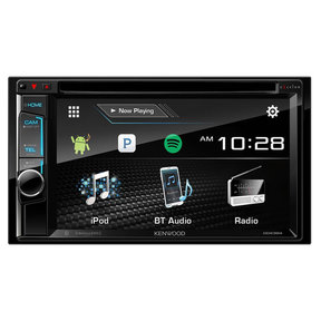 "DDX395 6.2"" DVD Touchscreen Receiver w/ Bluetooth and Camera Inputs"