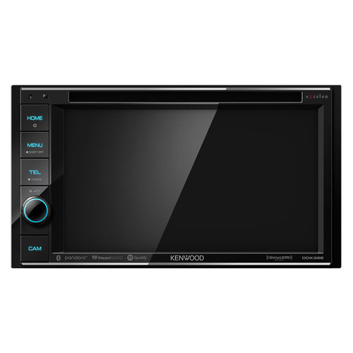 """View Larger Image of DDX396 6.2"""" DVD Touchscreen Receiver w/ Bluetooth"""