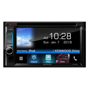 "DDX595 6.2"" DVD Touchscreen Receiver with Bluetooth"