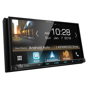 """DDX8905S 6.95"""" CD/DVD Touchscreen Receiver w/ Apple CarPlay and Android Auto"""