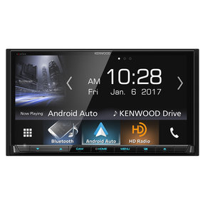 "DDX9904S 6.95"" DVD Touchscreen Receiver with CarPlay and Android Auto"