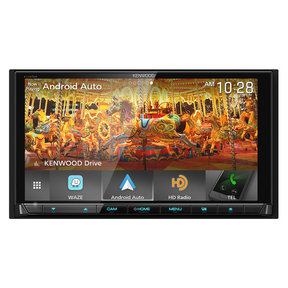 "DDX9905S 6.75"" DVD Touchscreen Receiver w/ Apple CarPlay and Android Auto"