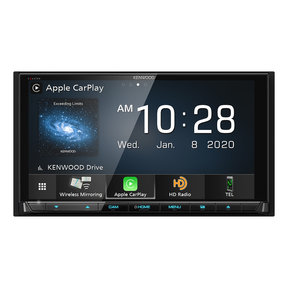 """DDX9907XR 6.8"""" CD/DVD Receiver w/ Apple CarPlay and Android Auto"""