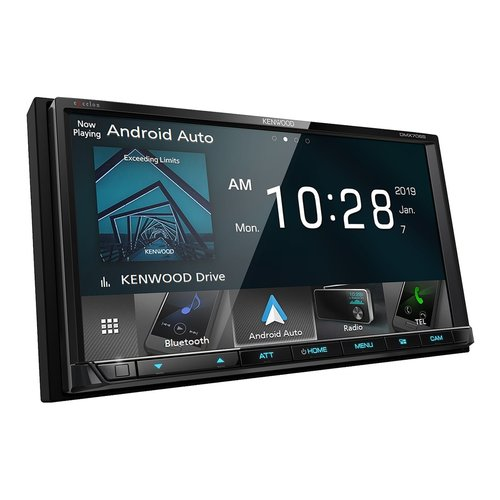"""View Larger Image of DMX706S 6.95"""" Digital Media Touchscreen Receiver w/ Apple CarPlay and Android Auto"""