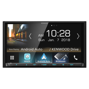 """DMX7705S 6.95"""" Media Touchscreen Receiver w/ Apple CarPlay and Android Auto"""