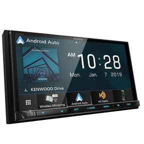 "DMX906S 6.95"" Digital Media Touchscreen Receiver w/ Apple CarPlay & Android Auto"
